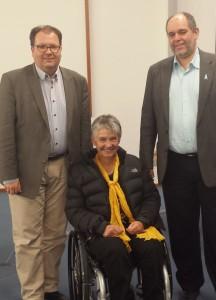 Helmut Vogel, Dr. Sigrid Arnade, Ottmar Miles-Paul